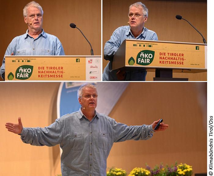 Gerhard Frank, der die Keynote hält